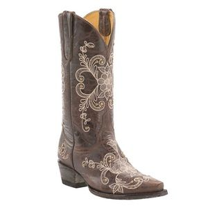 Cavender's Vintage Chocolate Leather Western Boots